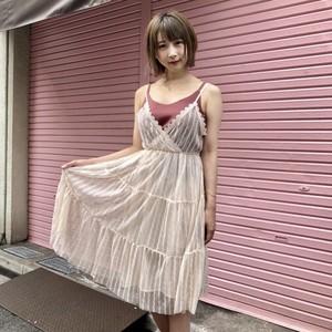 【新作】レースキャミワンピ ース