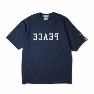 "ANRIVALED by UNRIVALED ""PEACE TEE"" NAVY"