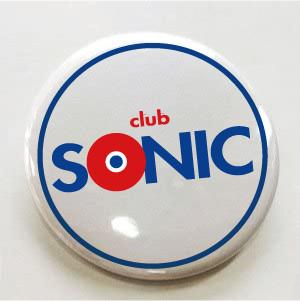 SONIC チャリティー缶バッジ