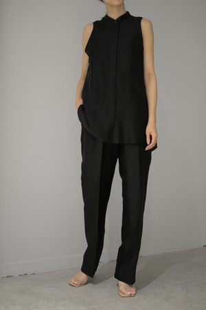 ROOM211 / Lawn Trousers (black)