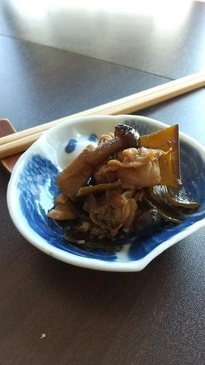 昆布とアサリの佃煮 (てらまち 福田)