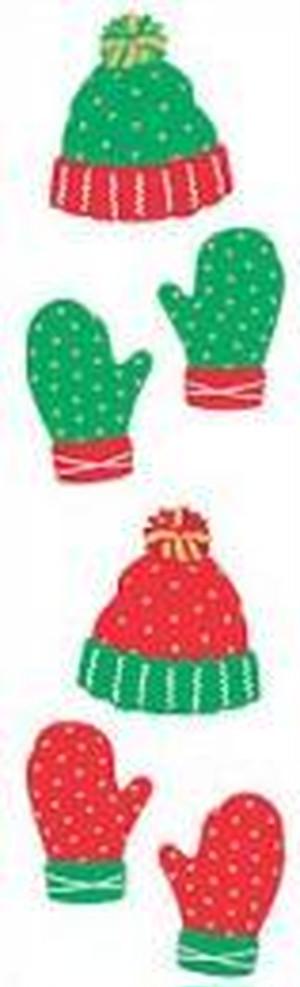 Festive Hat & Mittens