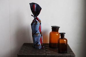 アフリカ布のカラフル ボトルカバー ワインバッグ <koushi> 【送料無料】