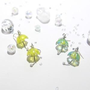 【梅雨にぴったり】Umbrella ピアス P-UM-01
