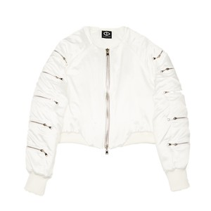 Arm 5 Pocket Blouson (White)