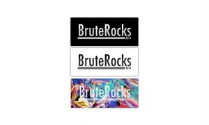 BruteRocks 2014 Logo Sticker