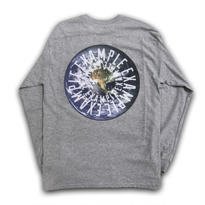 EXAMPLE EARTH L/S TEE/GRAY