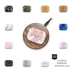 Apple AirPodsPro ケース デザイン エアーポッズプロ MWP22J/A ハード カバー CaseStudi ケーススタディ ワイヤレスイヤホン