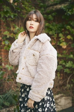 Faux Shearling Bomber