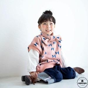 «即納»«Jr.サイズ» choucho knit vest 2colors ちょうちょ柄ベスト ジュニアサイズ