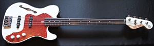 PSYCHEDERHYTHM T-LINE BASS Performance White