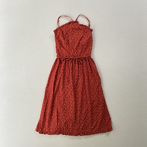 small flower frill trimming dress