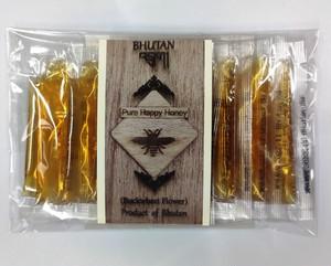 ブータン産はちみつ Pure Happy Honey BUCKWHEAT(ピンクのそばの花)スティック20