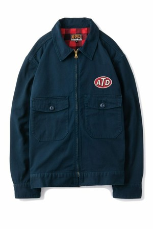 """AT-DIRTY(アットダーティー)/""""ATD UNION JACKET"""" (NAVY)"""