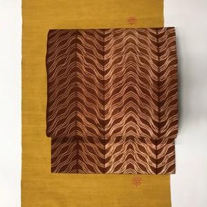 オリジナル名古屋帯(インド絞り×保多織)