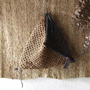 さき編みメッシュバッグ(アップサイクル)