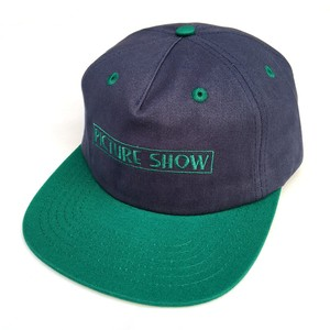 PICTURE SHOW / VHS STRAP BACK HAT / SLATE - JADE / キャップ