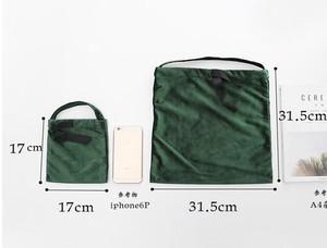【9月ノベルティー】16000円以上お買い上げの方にベロア巾着バッグをプレゼント♡