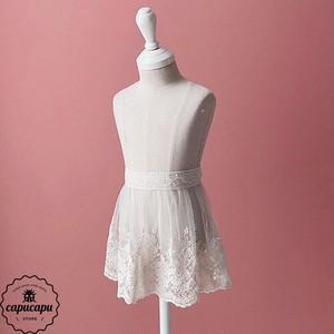 «即納» Lace apron cape small version 小さなレースエプロン