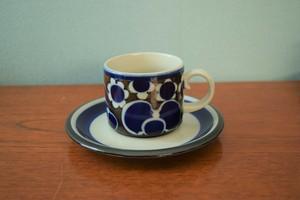 アラビアサーラティーカップ&ソーサー【ARABIA/Saara】北欧 食器・雑貨 ヴィンテージ | ALKU