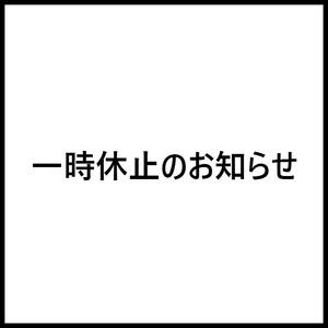 【重要】一時休止のお知らせ