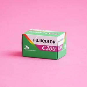 1本×36枚 ISO200 フジカラーC200 カラーネガフィルム 135mm フジフイルム FUJIFILM FUJICOLOR (カテゴリ: 現像 写真 プリント 焼付)