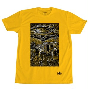 """Visitors"" Tee Shirts - Matthew Greeen"