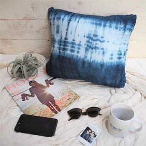Tie-dye Cushion Cover《INDIGO》