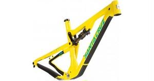 SANTA CRUZ BICYCLES サンタクルズ バイシクルズ Tallboy トールボーイCARBON FRAME サイズM Yellow & Emerald