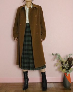 Aquascutum 80's long coat