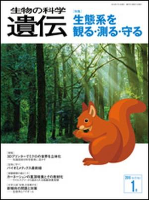 2016年1月号/特集ページ5論文/生態系を観る・測る・守る/