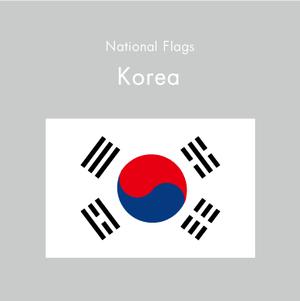 国旗ステッカー 大韓民国