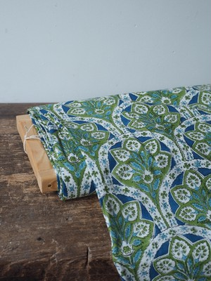block print fabric a70