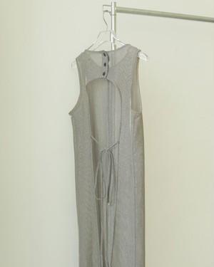 Backopen Mesh Dress