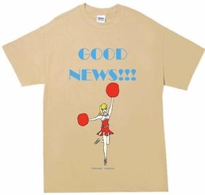 「GOOD NEWS!!! T-shirt 」タン