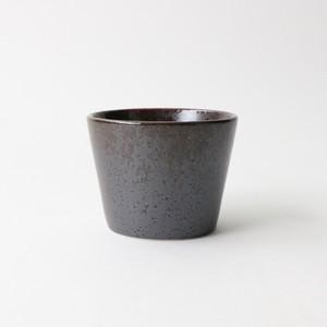 【SL-0052】磁器 そば猪口 赤茶