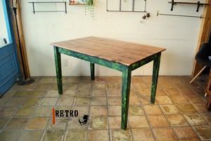 ラスティダイニングテーブル
