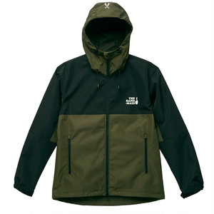 2-TONE MOUTAIN PARKA OLIVE × BLACK