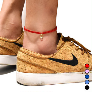 【無料ギフト包装/送料無料/直営限定/即納】K18 Gold Horse Shoe Anklet 各色【品番 18S2007】