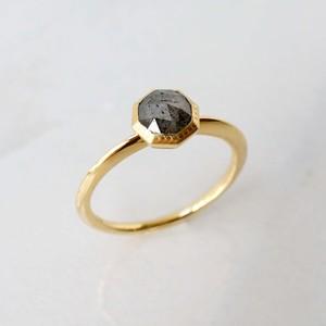 Rose Cut Diamond Ring(R194-YD)
