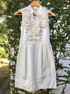 真っ白なワンピース ドレス NEW イギリス