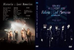 WIN=W1N 1st CONCERT 2020『Historia:Lost Memories』LIVE DVD