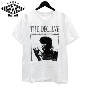 SUPREME 17AW Decline of Western Civilization Tee