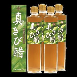6年以上熟成『真きび酢』500ml×4本|奄美 加計呂麻島 本格きび酢 通販|タイケイ製糖