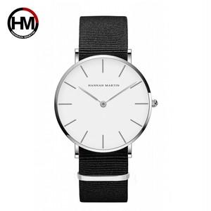 ジャパンクォーツシンプルな女性のファッション時計ホワイトレザーストラップレディース腕時計ブランド防水腕時計36mmCB36-YN