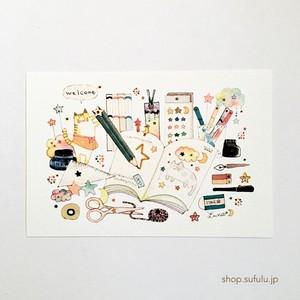 L*ketch Book ポストカード 星の文具店