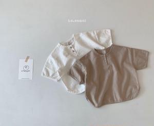 【予約販売】madeleine shirt〈la camel〉
