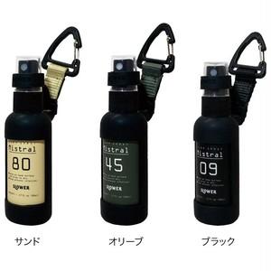 SLOWER スロウワー スプレーボトル アルコール対応 50ml 携帯 持ち運び 詰め換え用 PUMP SPRAY BOTTLE Mistral