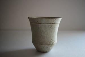 小林耶摩人(恵山)|カップ(大)粉引き
