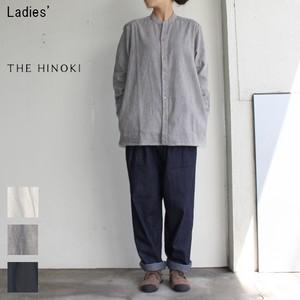 THE HINOKI スタンドアップカラーシャツ Stand Up Collar Shirts TH17W-9G (GRAY)